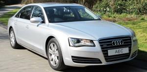 Luxury Chauffeur Driven Cars: Audi A8 - Ashdown Executive Cars
