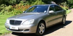 Luxury Chauffeur Driven Cars: Mercedes Benz S Class - Ashdown Executive Cars