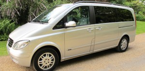 Luxury Chauffeur Driven Cars: Mercedes Benz Viano MPV - Ashdown Executive Cars